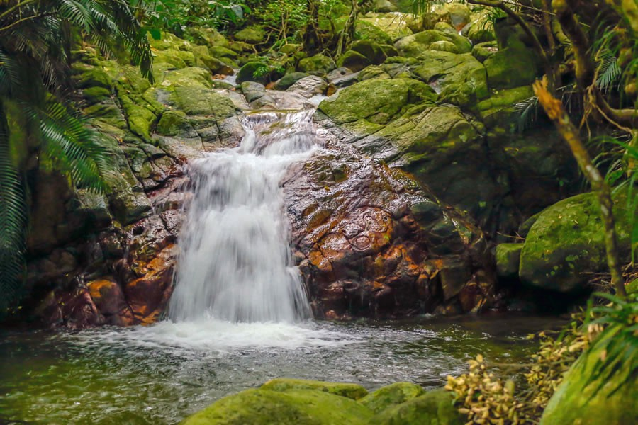 石垣島:荒川の滝